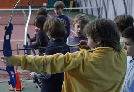 Handboogschieten - Kinderfeestje in Gelderland