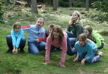 Fotospeurtocht Kinderfeestje op de Veluwe