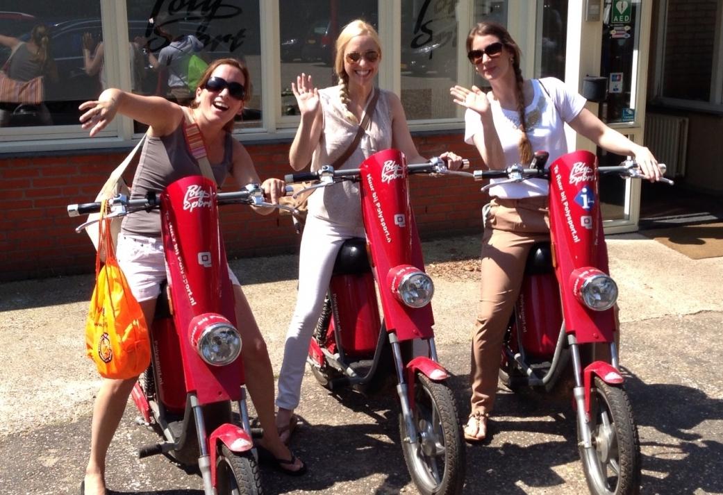 Ga op pad met de E-scooter en ontrafel de Puzzeltocht met GPS!