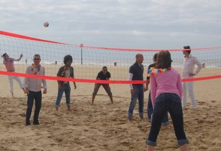 Sportief all-in beacharrangement inclusief Vis-BBQ