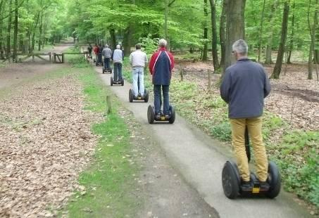 Segway Tour op Veluwe - Groepsuitje in de natuur
