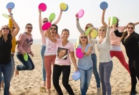 Discgolf - Actief Stranduitje voor groepen