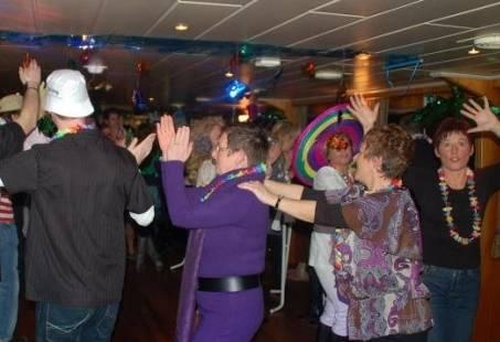 Varend feest - Kies zelf je thema tijdens de Partycuise