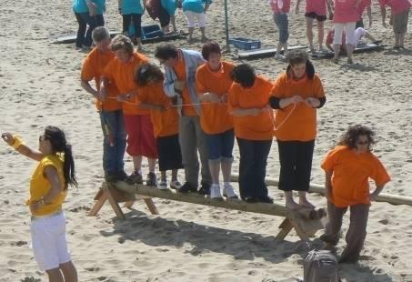 Teambuildingsuitje op het Strand in Zandvoort!