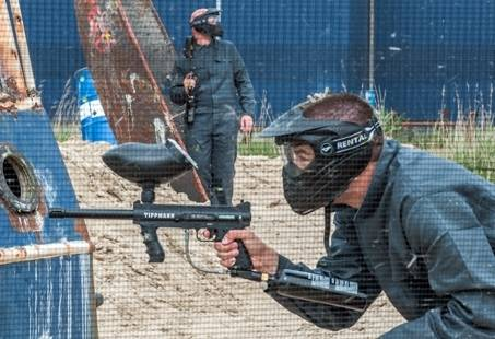 Paintballen in Zuid-Holland - stoer uitje