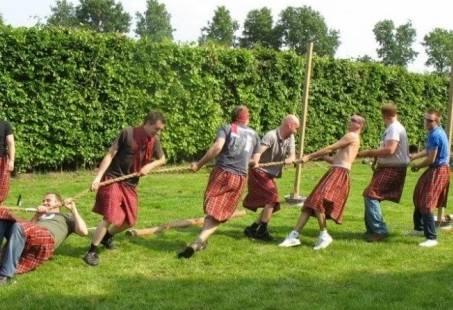 Highlandgames - Personeelsfeest met echte Schotse activiteiten