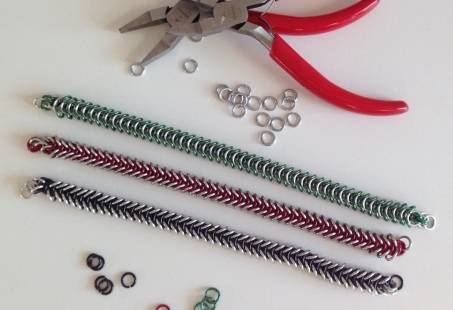 Workshop Chain maille: Armband naar eigen design