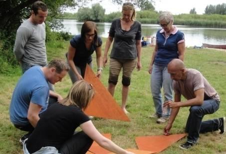 Kanotocht met Teamopdrachten door de Biesbosch