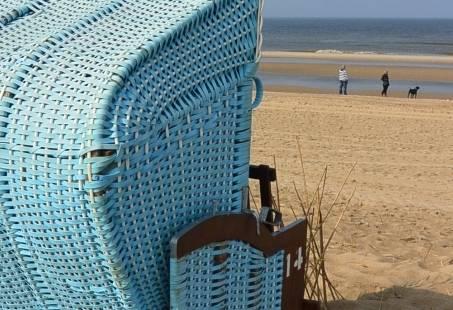 Genieten op het strand van Egmond aan Zee