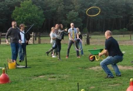Zeskamp op de Veluwe - Teambuilding weekend in Gelderland