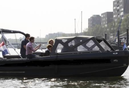 Personeelsdag in Rotterdam - sloepenspeurtocht op het water