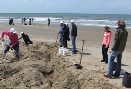 Leuke beachgames in Scheveningen