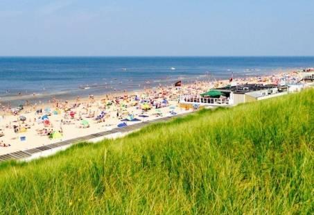 Prachtig strand in Egmond aan Zee