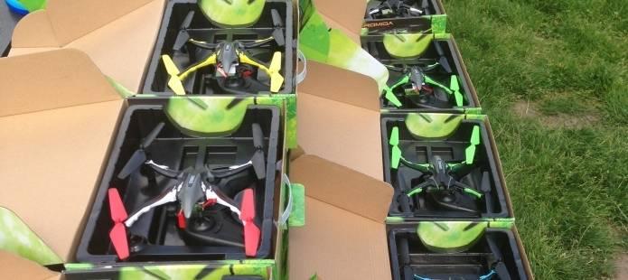 Drone Workshop - Modern groepsuitje op eigen Locatie