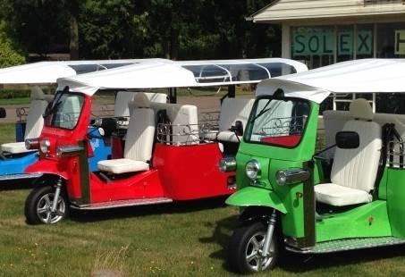 Familieuitje in Gelderland met een Thais tintje - Elektrische Tuktuk Tocht