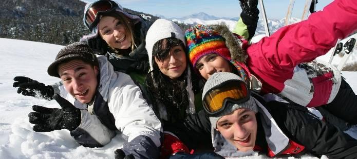 Rutschen mit Anton - Teambuilding in de sneeuw