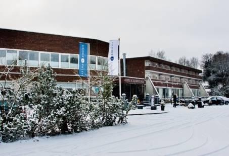 gebouw winter