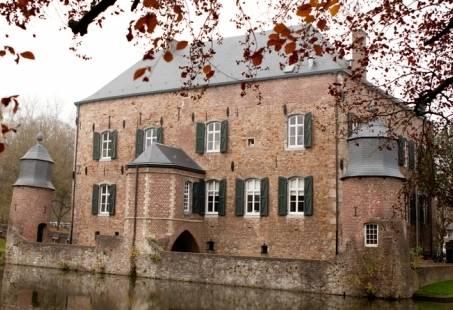 Vergaderen in een prachtig kasteel in het Limburgse Heuvelland