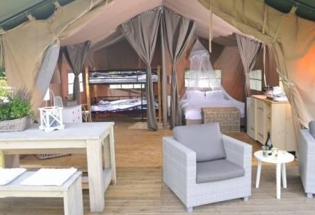 Voordelig gezinsuitje op de Veluwe - Weekendaanbieding: Verblijf 2 nachten in een Safaritent