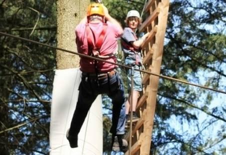 Teamuitje op hoog niveau - Samenwerken en klimmen op de Veluwe
