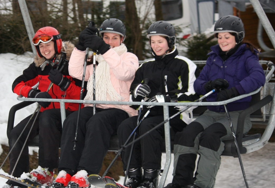 Weekendje skien - bedrijfs uitje in Sauerland