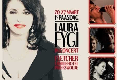 Exclusief concert van Laura Fygi in Paterswolde - Concert en Overnachting in Groningen