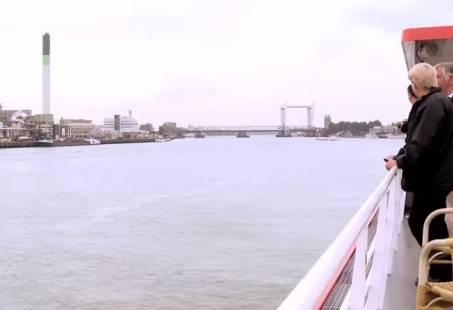 Dagtocht naar Rotterdam - Varen vanuit de Biesbosch naar Rotterdam
