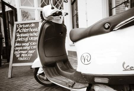 Winkelen en Vespa Rijden in de leuke stad Doetinchem - La Dolce Vita