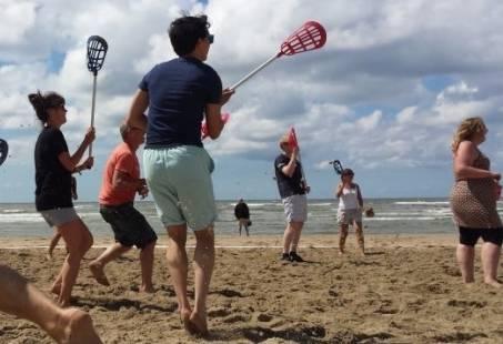 Strandcombi - Actief groepsuitje op het strand