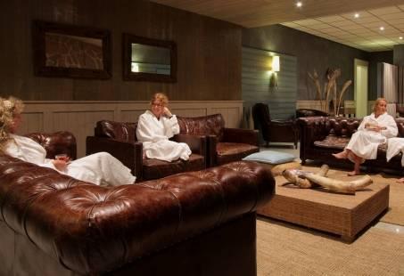 Heerlijk relaxen in de loungeruimte
