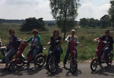 3-daags SUPER vriendinnenweekend op de Veluwe - Met Langlaufen en E-scooter rijden
