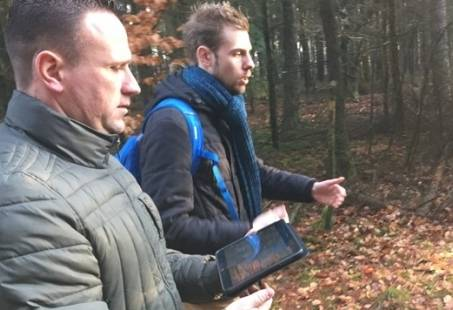 Avond GPS tocht in Gelderland