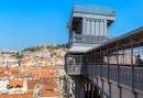 Elevador sta justa in Lissabon