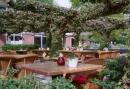 Terras bij het Hotel in Dwingeloo