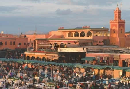 Lang weekend genieten in Marrakech