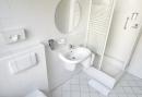 Badkamer in 1 persoonskamer