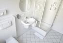 Badkamer in 2 persoonskamer