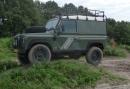 Bedrijfsuitje op de Veluwe - Ga op Safari met een echte stoere Land Rover