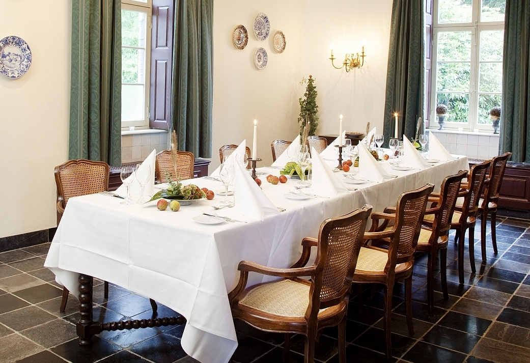 Wine & Dine vergaderarrangement in Zuid-Limburg - Vergaderen op een kasteel in Vaals
