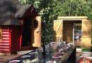 Vriendenuitje in Overijssel - BBQ kota, handboogschieten, kanotocht en bamboe challenge
