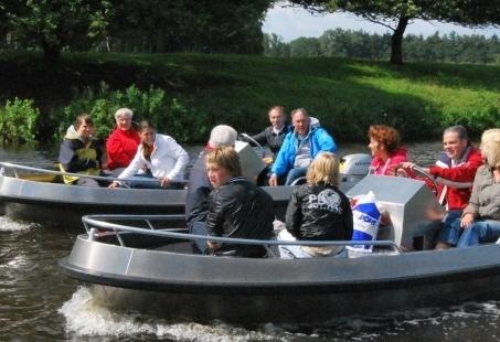 Bedrijfsuitje in Overijssel - Boats, Bike & BBQ