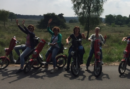 E-scooteren op de Veluwe