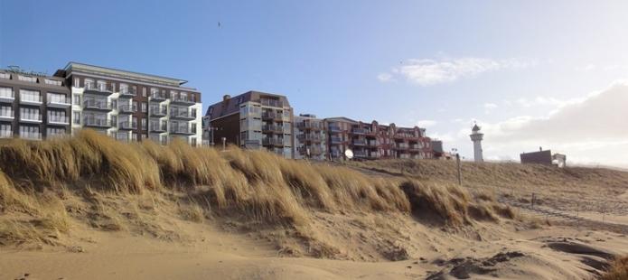 Prachtig gelegen strandhotel