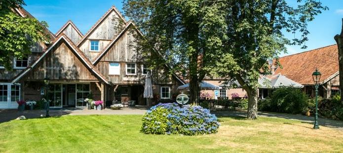Het hotel in Enschede