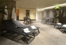 Relaxruimte in het wellness center