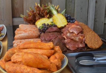 Barbecue arrangement - Beleef Giethoorn