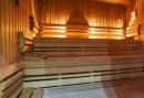 Sauna in het hotel