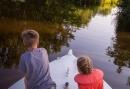 Zomervakantie in Giethoorn met de kinderen - Eigen chalet aan het water met prive boot en catering aan huis