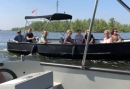 Varen in de Biesbosch! Met de hele groep in een luxe fluisterstille sloep!