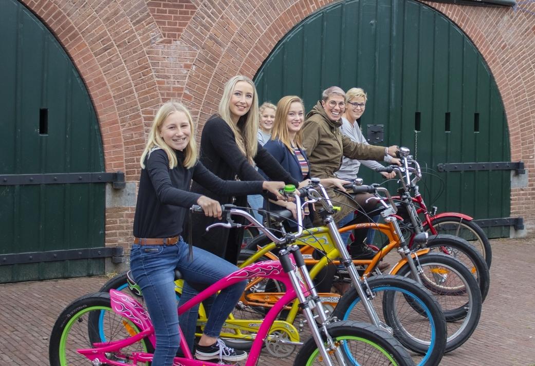 Trappen met Grappen - GPS Tandem Challenge in de Biesbosch